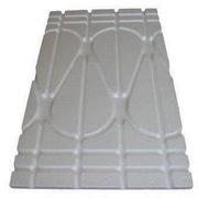 Плита из пенополистирола для водяного теплого пола
