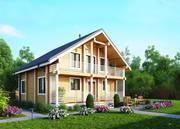 Строительство деревянных домов из архангельской сосны.