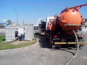 Прочистка канализации, устранение засоров+телеинспекция