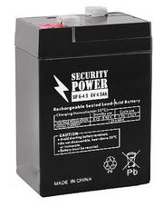 Аккумуляторная батарея 6V/4.5Ah Security Power SP