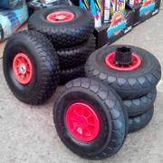 Резиновые колеса для детских электромобилей.
