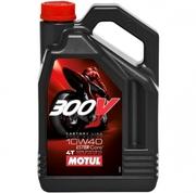 Масло для мотоцикла Motul 300V 4T FL ROAD RACING 10W-40 4L