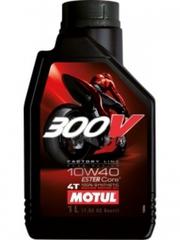 Масло для мотоцикла Motul 300V 4T FL ROAD RACING 10W-40 1L