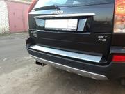 Накладка на бампер для Volvo XC90.