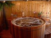 Бани-бочки,  купели,  деревянные бассейны,  японская баня Офуро