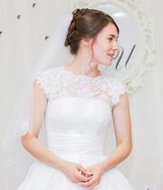 Свадебное платье Минск Сшито на заказ,  французское кружево Solstiss