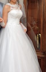 Свадебное платье, А-силуэт