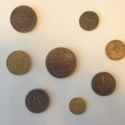 8 монет до 1961 года