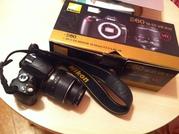 продам фотоаппарат Nikon d60 18-55 vr kit