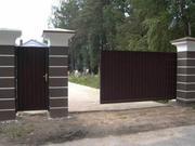 Установка и ремонт откатных (въездных) ворот с автоматикой и без.