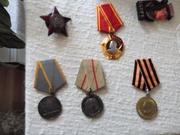 Орден Ленина, Орден Красной звезды,  с документами.1948г.