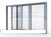 Окна Двери из ПВХ Алюминиевые раздвижные балконные рамы