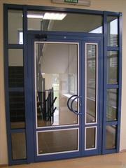 Окна,  двери,  балконные рамы,  витражи,  перегородки из Алюмини...