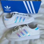 Женские кроссовки Adidas Superstar Holographic