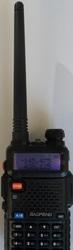 Baofeng UV-5R рация 2х диапазонная 136-174 и 400-520 мгц нoвая торг