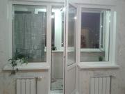 Окна ПВХ балконные рамы лоджии обшивка утепление