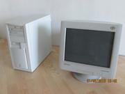 Системник+принтер+монитор+cd/dvd