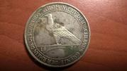 5 марок ГЕРМАНИЯ 1930 Освобождение Рейнланда