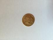 Золотые  монеты продам Соверен Англия 8 шт,  20 марок Германия 2 шт