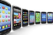 Смартфоны Nokia,  Apple,  ZTE,  HTC,  Meizu,  Xiaomi,  Lenovo,  Huawei
