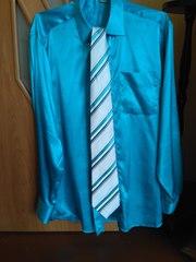 Костюм мужской с рубашкой и галстуком