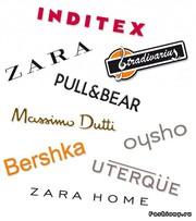 Одежда H&M,  Zara,  Mango