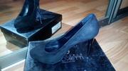 Замшевые туфли недорого!!!