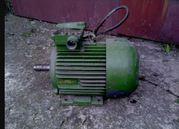 Двигатель 380 вольт,  5 киловатт