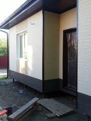 Облицовка и утепление фасадов в Минске. Отделка фасада дома