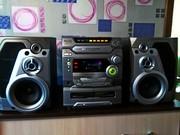 Музыкальный центр Panasonic SC-AK47, мощный громкий звук 260вт