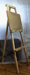 Мольберт напольный деревянный.  Планшет (40х60см),  б.у. В продаже...