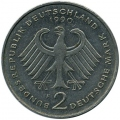 Германия 2 марки 1948-1988