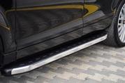 Боковые подножки,  пороги для Audi Q7.