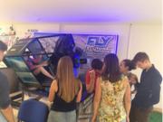 Игровой аттракцион полной реальности Авиасимулятор Fly-motion