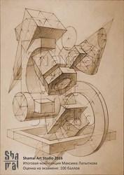 Репетитор по архитектурной композиции,  черчению,  рисунку