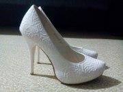 Продам свадебные туфли Stella 36 размера (Б/У) 1 раз