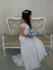 Продам свадебное платье TONE 40-42 размера (Б/У)