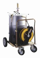 Комплект для смазки на колесах для бочек 180-220 кг