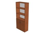 Шкаф для документов комбинированный
