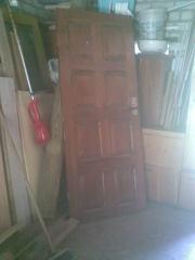 двери б/у входные филенчатая