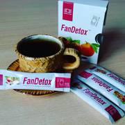 Чай ФанДетокс для очищения печени и кожи (10 стик пакетов)