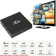 TV box Android 6 Smart TV приставка X96 2Гб озу 16Гб пзу