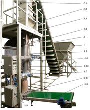 Оборудование для фасовки пеллет,  гранулированных продуктов