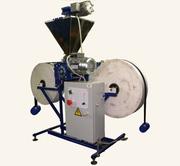 Автомат для пылящих сыпучих продуктов,  порошкообразных продуктов