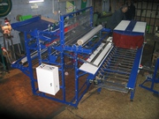 Оборудование для упаковки рулонов в пленку