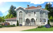Современные проекты домов и коттеджей