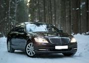 Прокат авто с водителем Минск. Mercedes W221 Long.