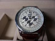 Мужские Часы BREITLING NAVITIMER brown (Механика)