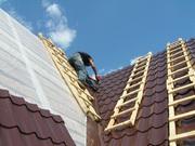 Монтаж кроли и ремонт крыши в Минске