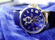 Мужские Часы Ulysse Nardin (Механика) Синие
